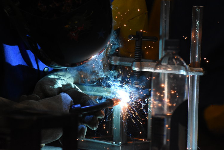 Blog about learning to weld in NYC! — Metal Shop Fantasy Camp