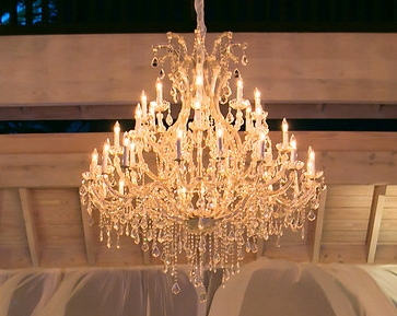 Silver Timeless Crystal Chandelier