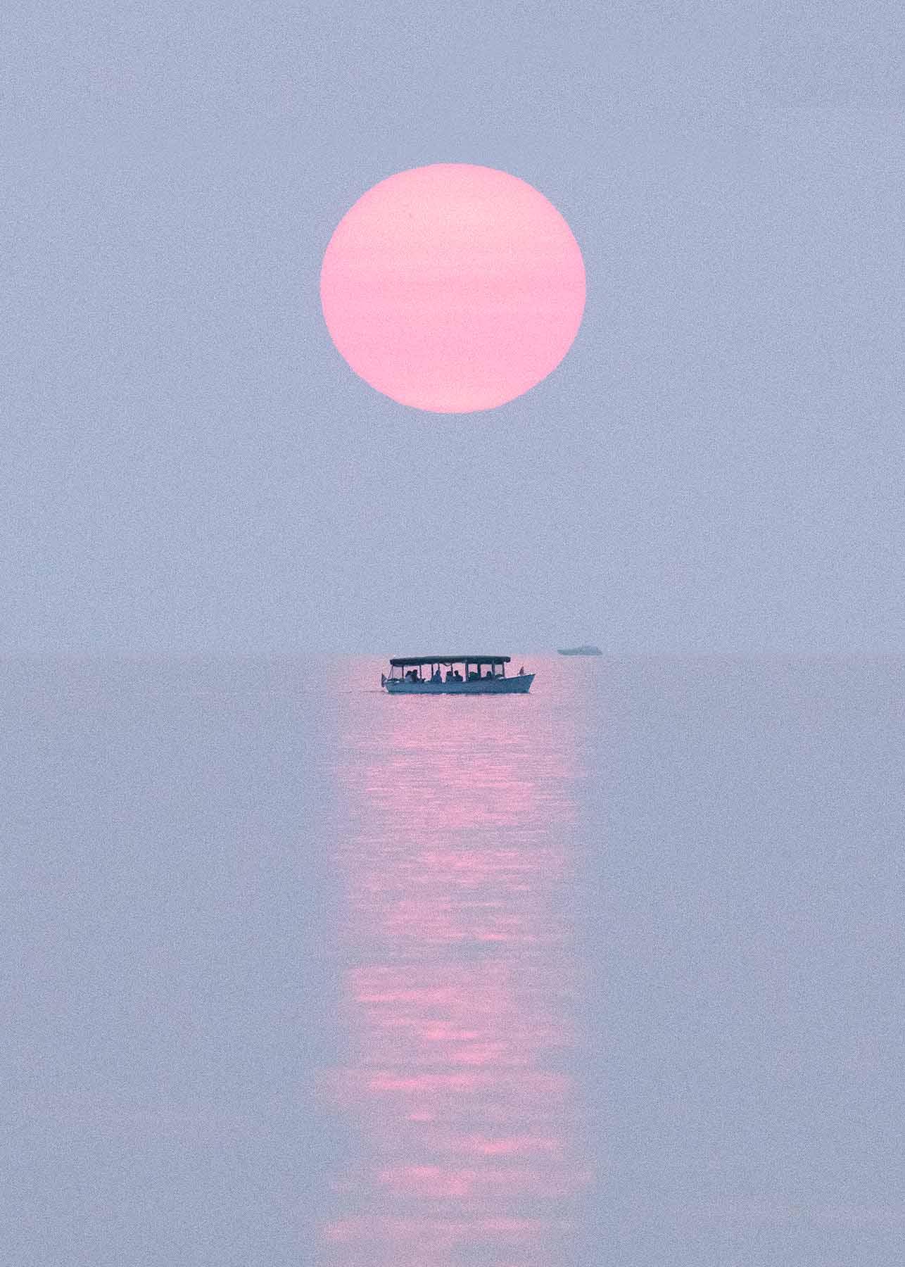 Oval Beach Sunset
