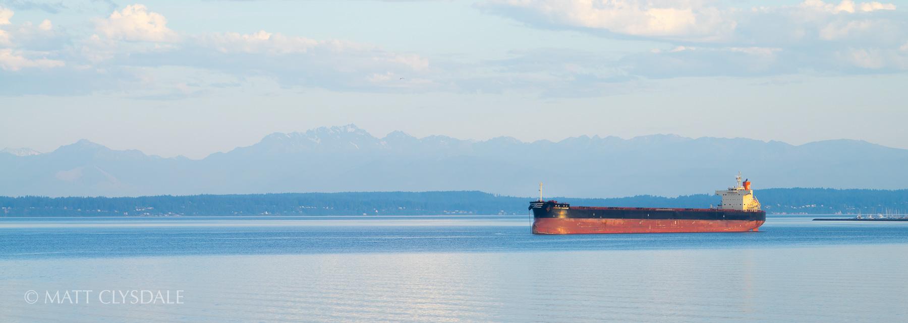 Puget Sound Tanker Sunrise