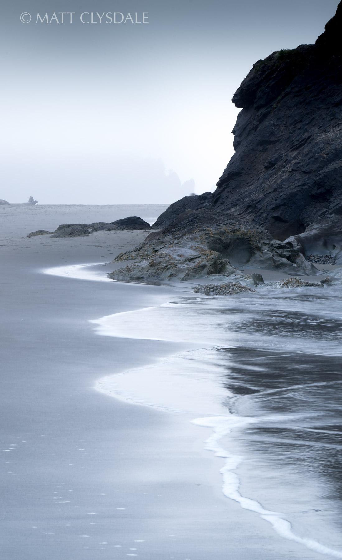 Second Beach Shoreline