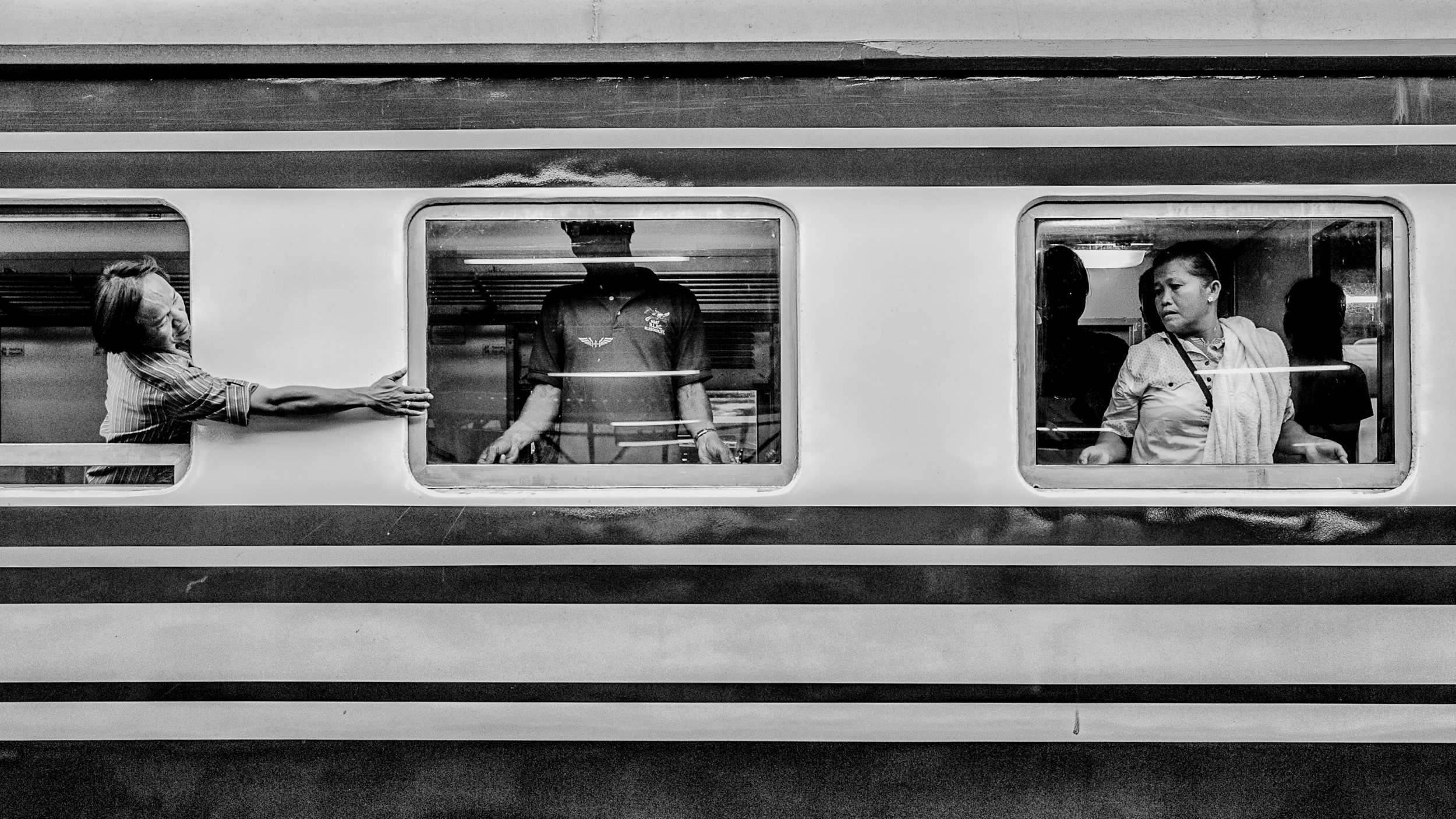 Rammy Narula Train Station Bangkok Black And White-5.jpg