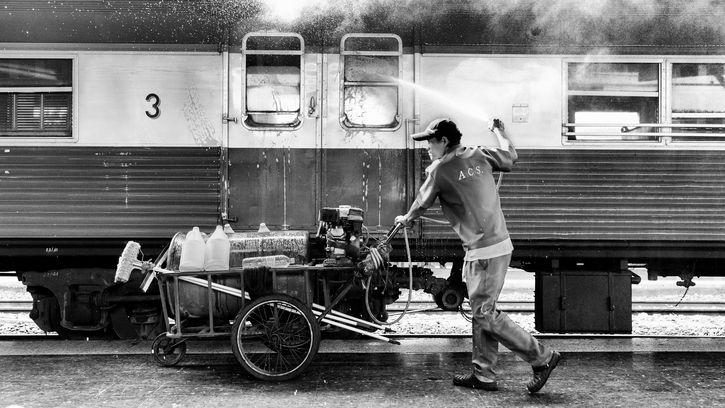 Rammy Narula Train Station Bangkok Black And White-11.jpg