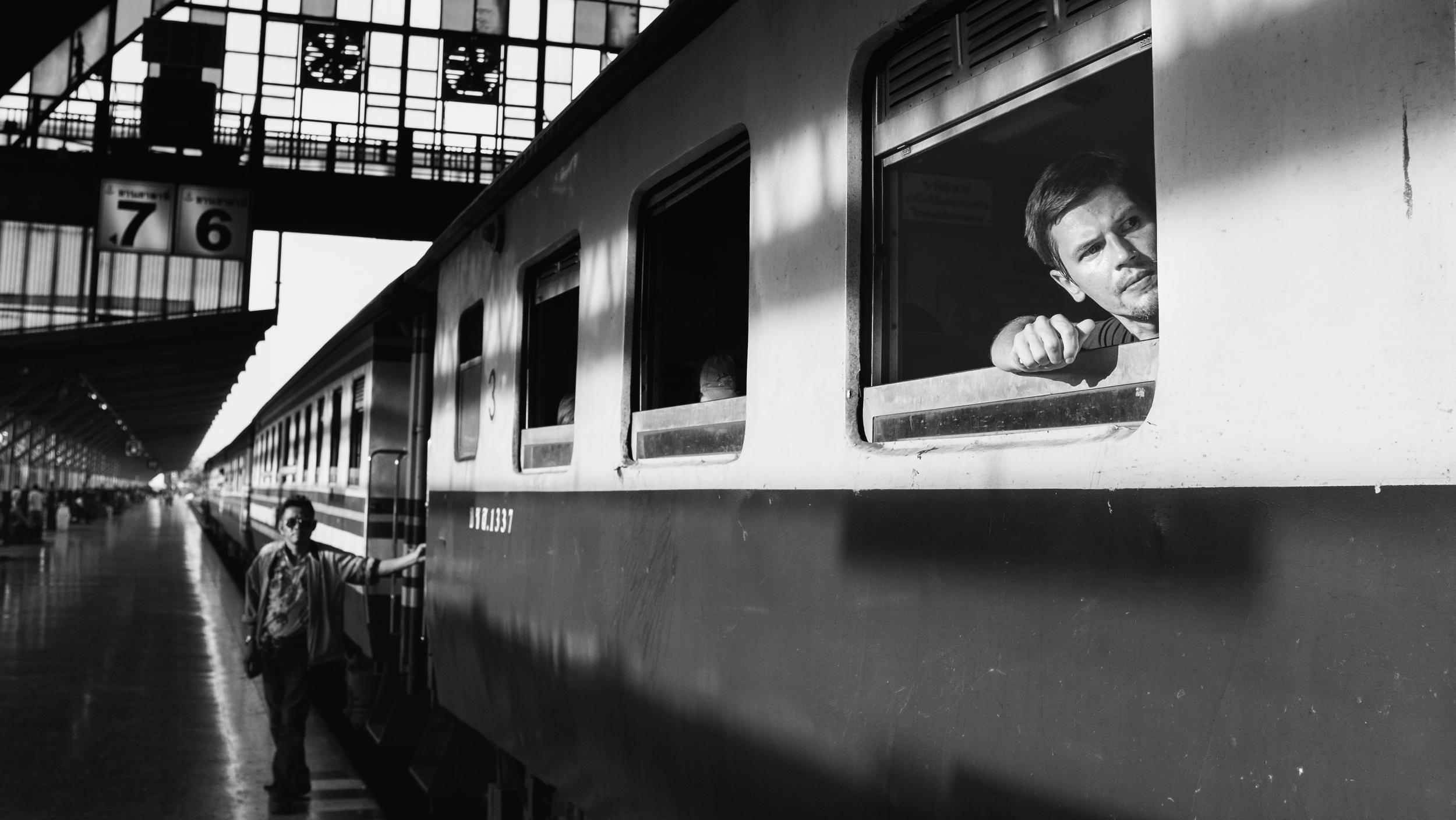 Rammy Narula Train Station Bangkok Black And White-13.jpg