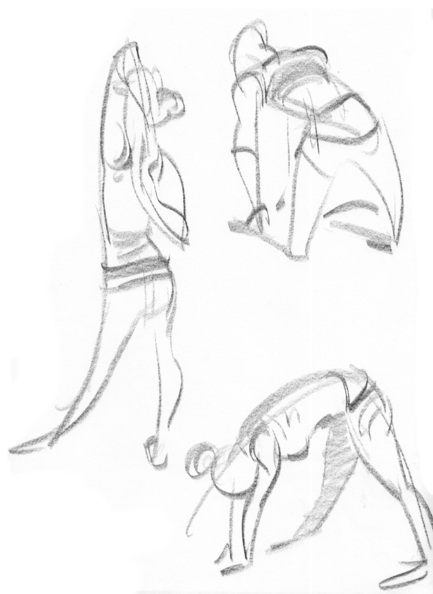 A very keen young animator in London, frustrated with the lack of drop-in animation-friendly life drawing on offer, has set up  a life drawing club  – the price for 3+ hours good solid gesture drawing is taking your turn to go up and pose (clothed).
