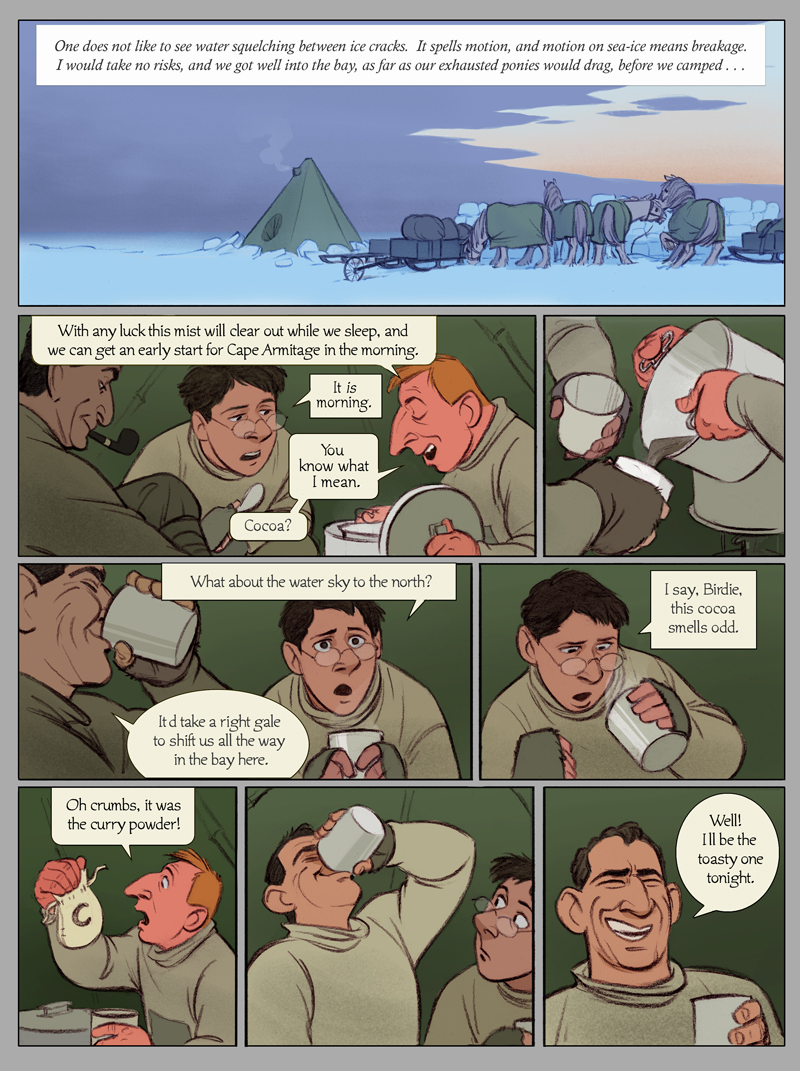 The Sea Ice Incident: Page 1