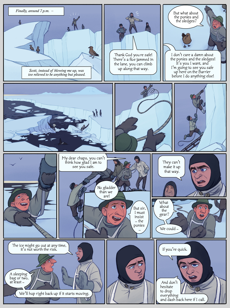 The Sea Ice Incident: Page 10