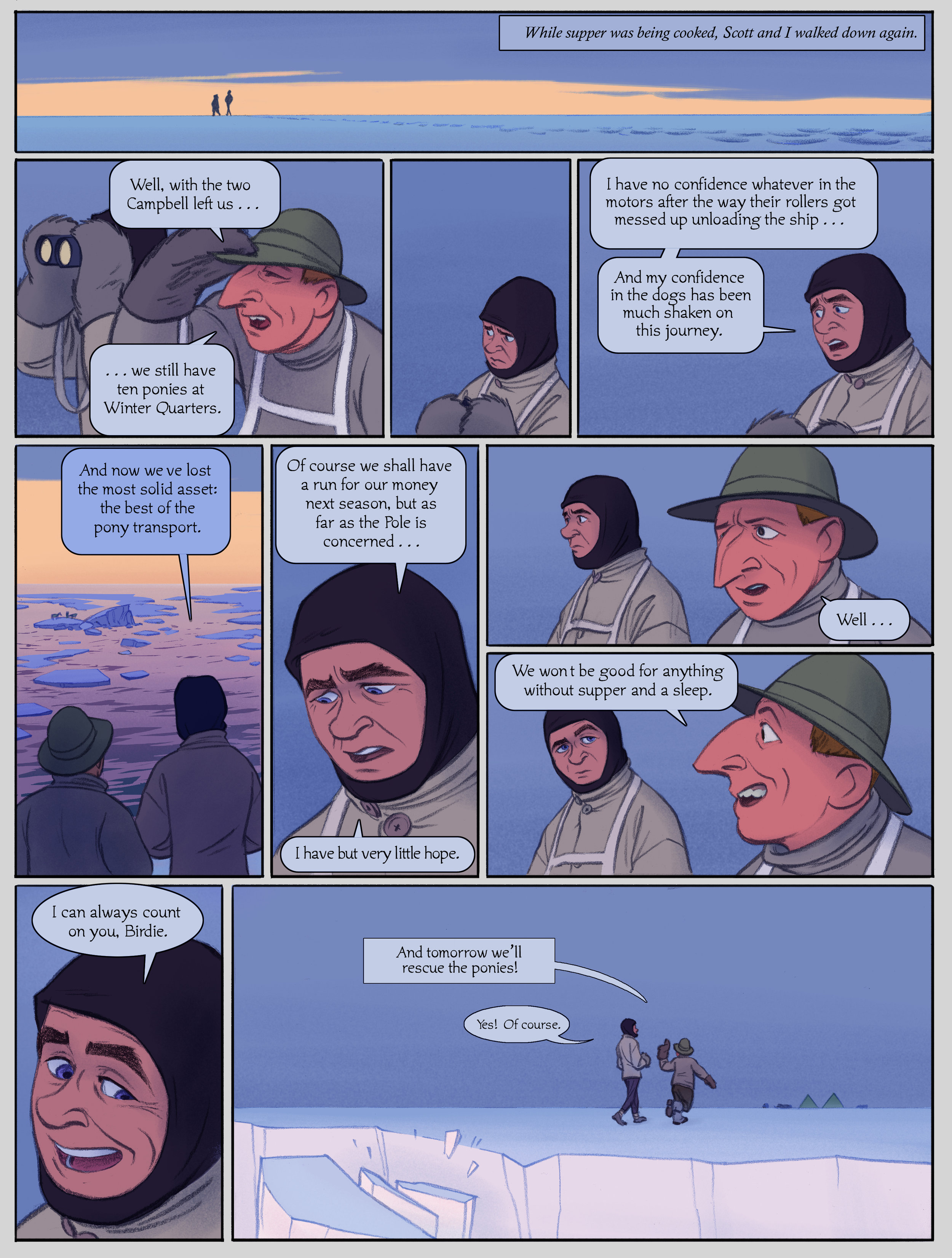 The Sea Ice Incident: Page 12