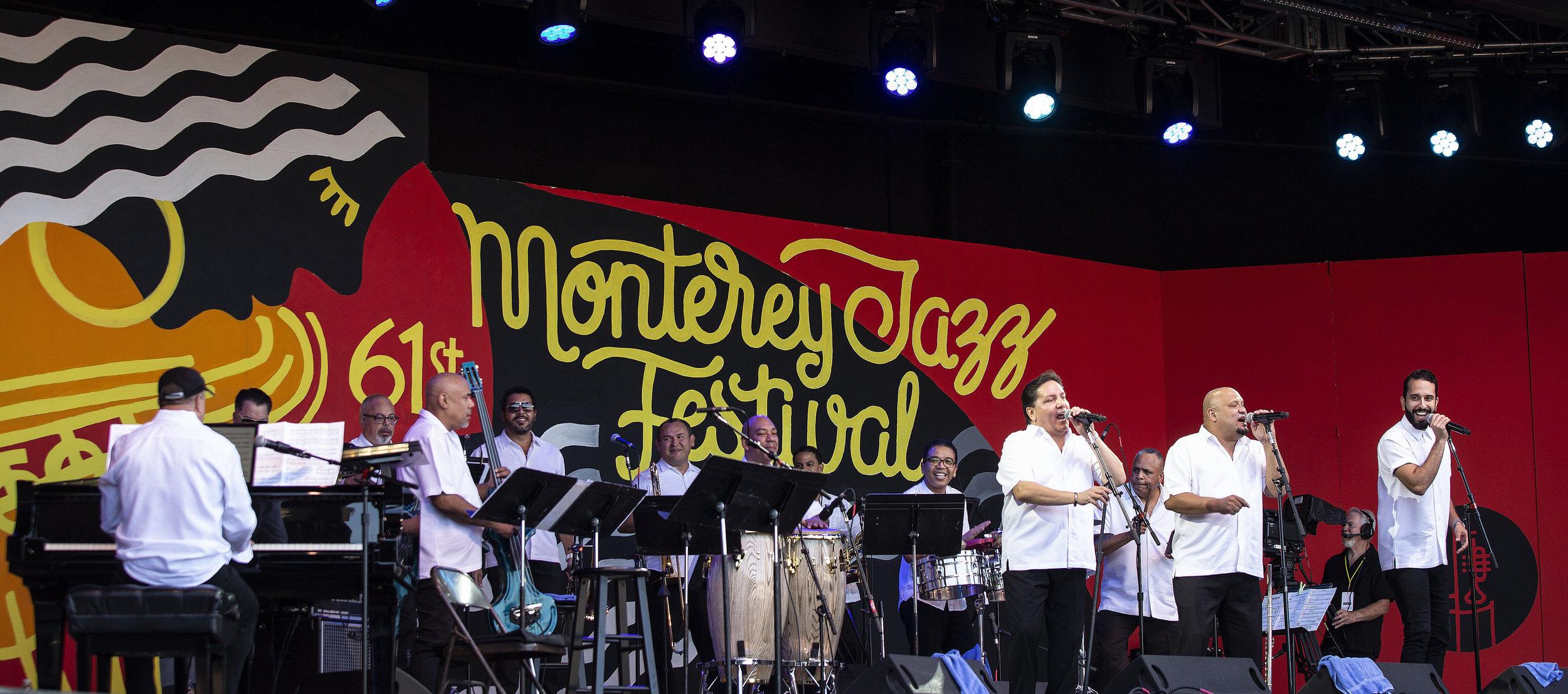 Spanish Harlem Orchestra  at the 61st Annual Monterey Jazz Festival