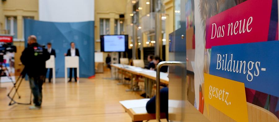 Medienkonferenz / Vorstellung des Entwurfs des neuen Bildungsgesetzes