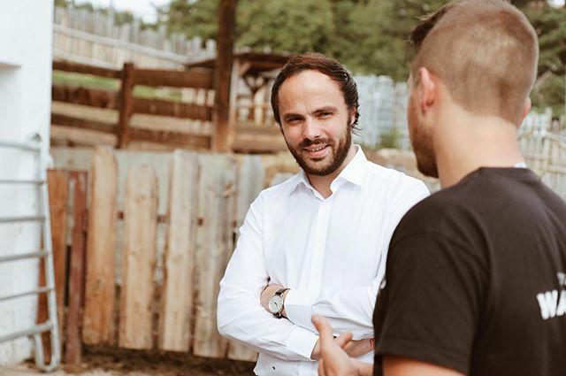 Tolle Betriebsbesichtigung bei Stefan Rottensteiner und seiner #Wagyzucht. . .  #suedtirol #ritten #betriebe #jungetalente