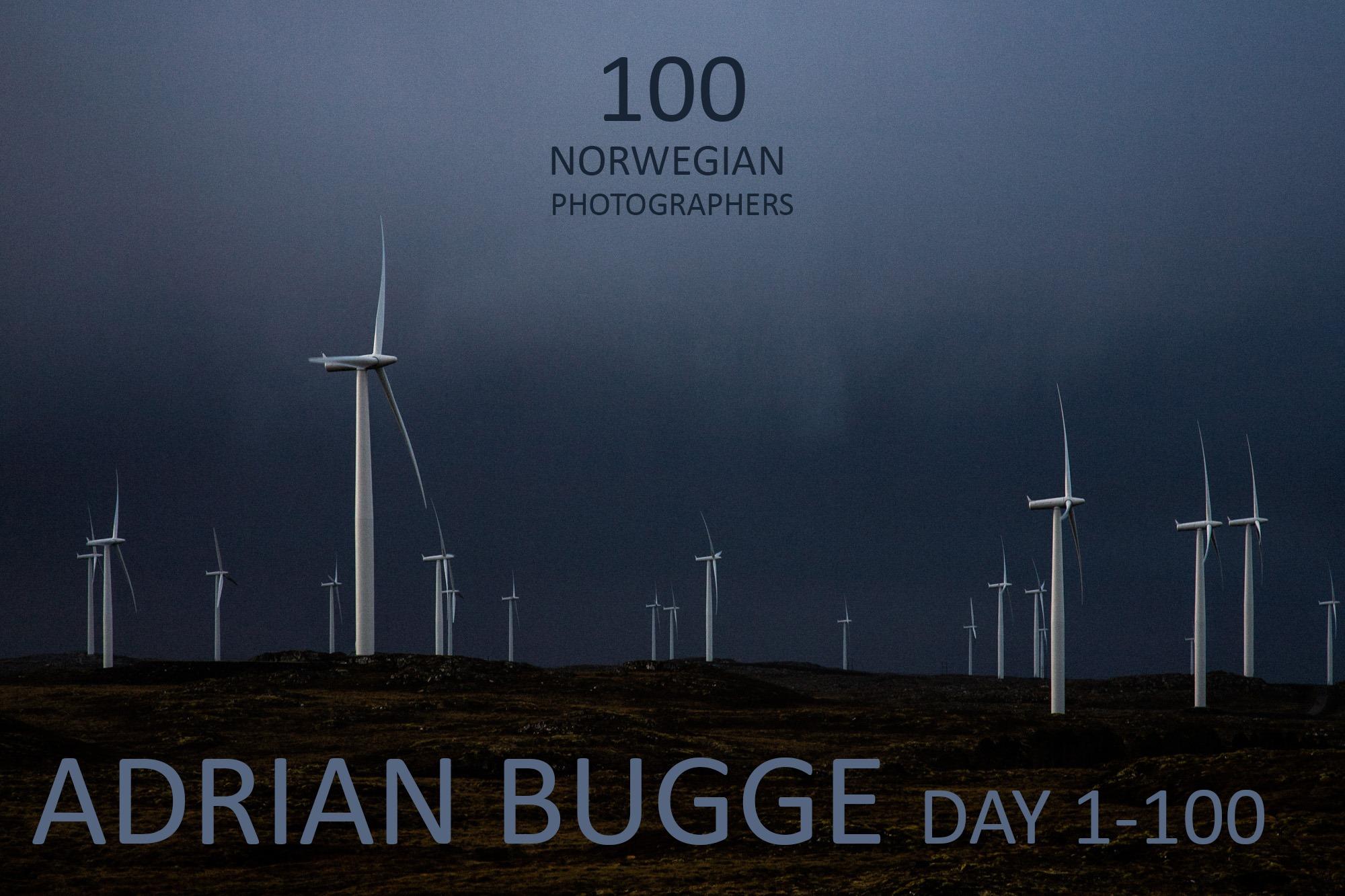 DAY 1-100: ADRIAN BUGGE, Hybridlandskap, Smøla 2009 Klikk på bildet for å komme til nettsiden og se flere bilder og lese om Inngrepprosjektet bildet er hentet fra.