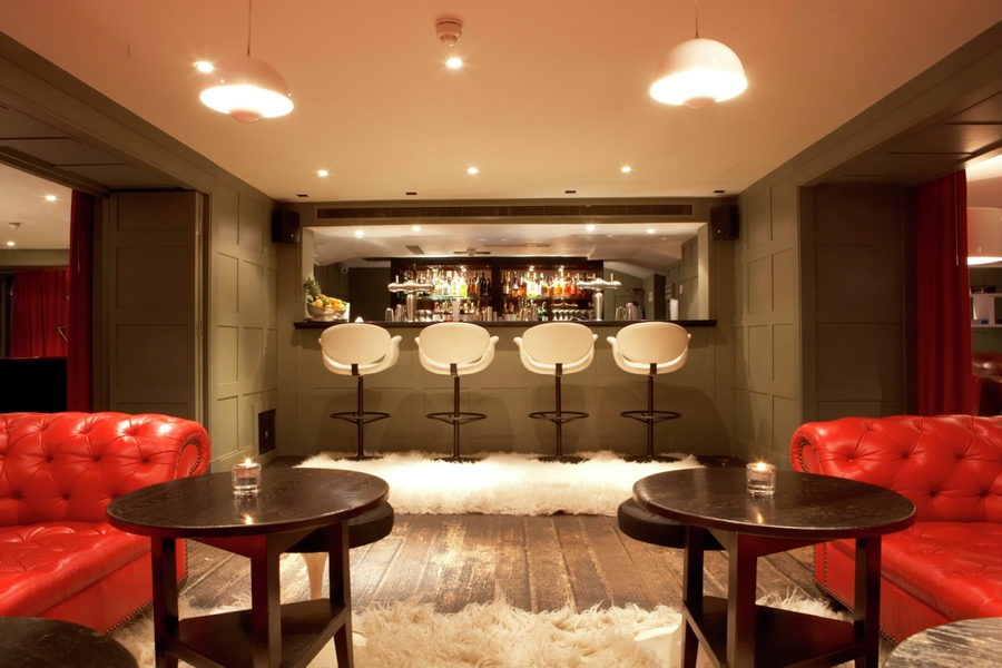 High Road House: 5 minute drive from Westpoint.   Picture showing the  Downstairs bar at High Road House