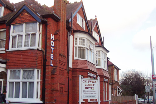 Chiswick Court Hotel: 3 minute drive from Westpoint.   For a smaller budget Chiswick Court Hotel are the cheapest & nearest by far.
