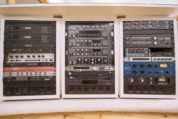 Control Room Left Hand Rack