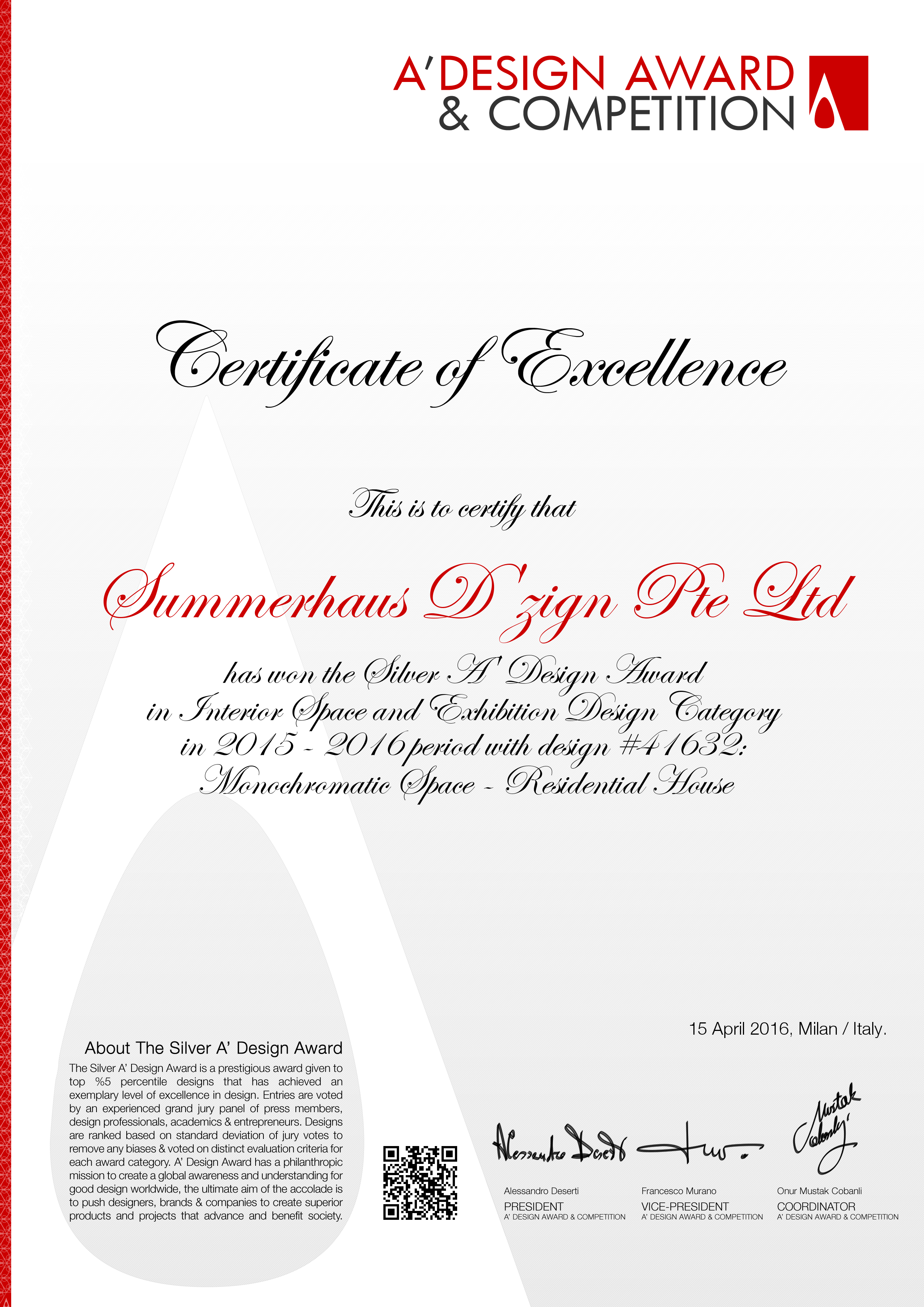 2015 A' Design Award - Silver.png