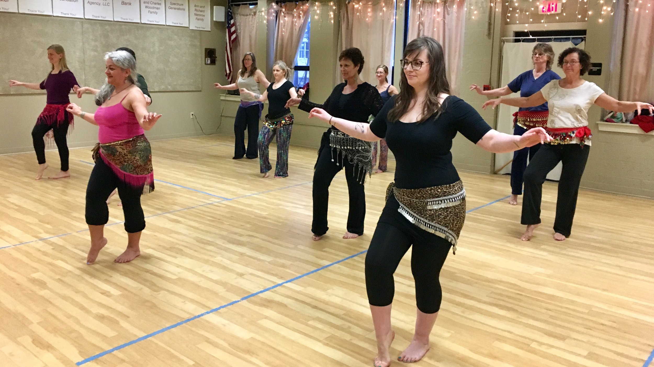 Authentic Belly Dance is proud, powerful and a lot of fun!  The emphasis will be shimmies, isolating movements emanating from the core.  Every body type is celebrated!  Jingling Hip Scarves will be provided.  The workshop is free for students in grades 6-12.  Space is limited.  Registration is required.  Please call 443-5141, ext. 12, to sign up.    Community Room, Patten Free Library, 33 Summer Street, Bath, ME  04530.  Light snacks will be provided afterwards.  FMI, Contact Roberta Jordan at rjordan@patten.lib.me.us or 443-5141, x25
