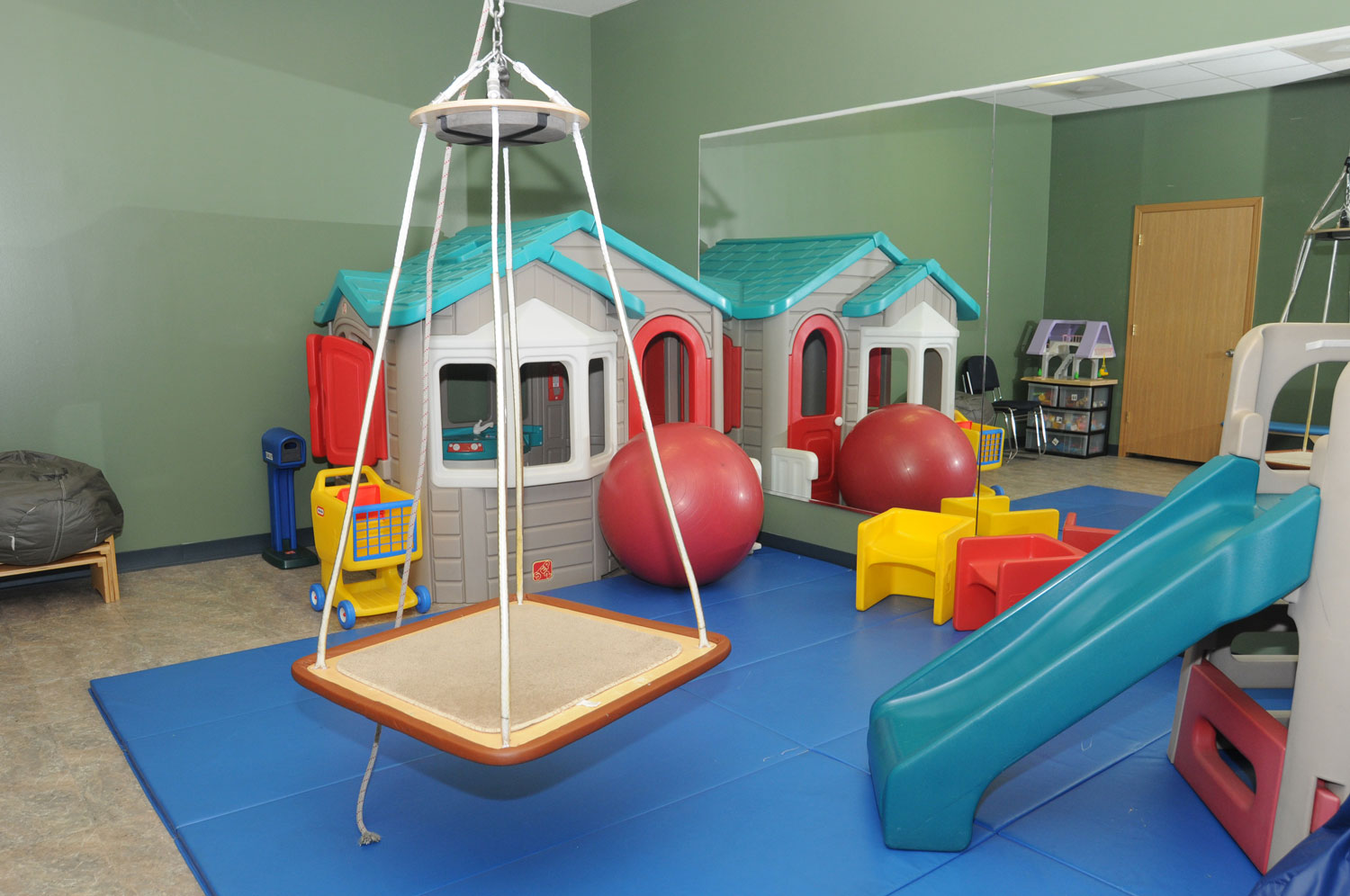 Butterfly Room:  with lots of different ways to play and learn