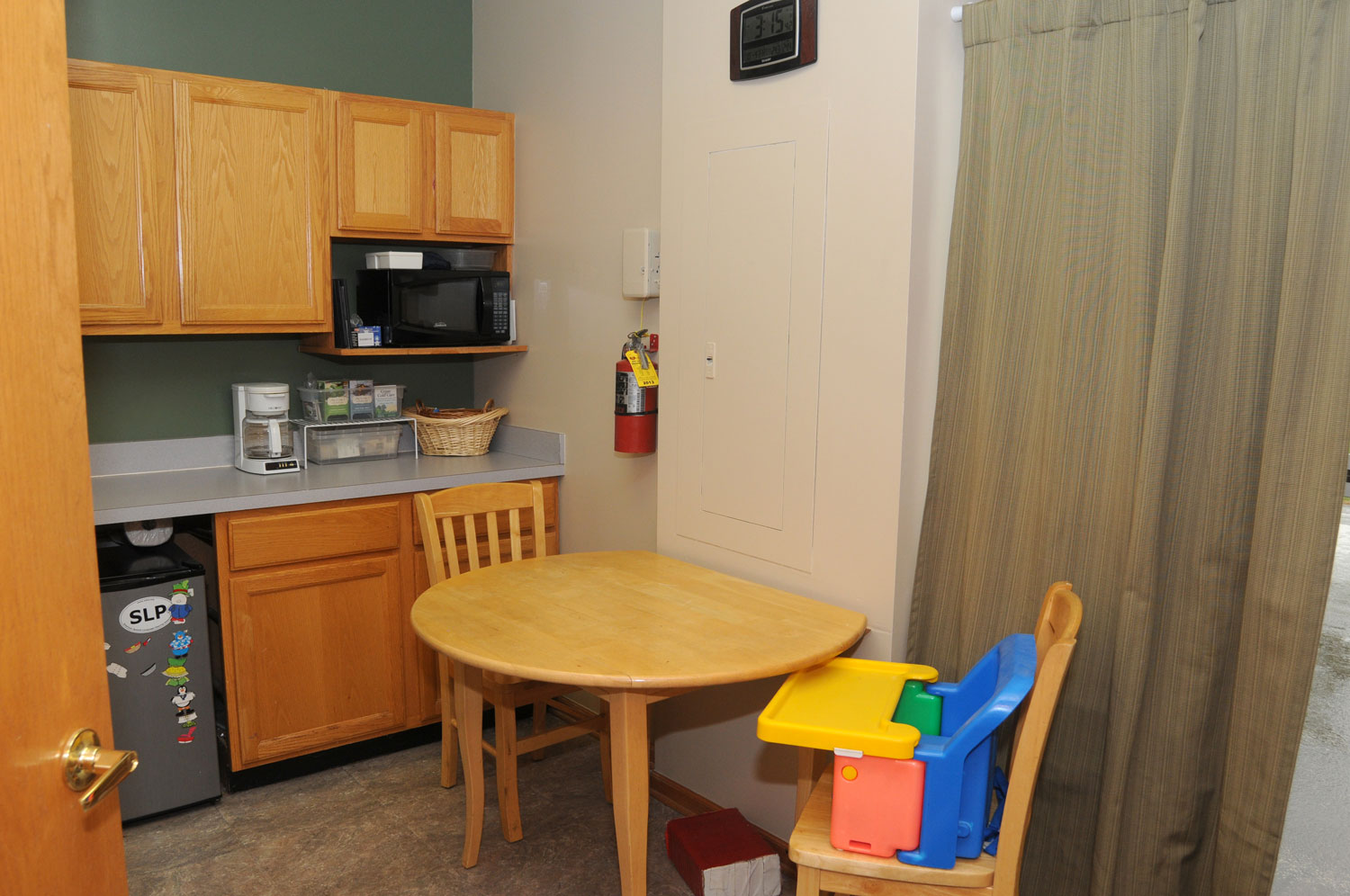 Kitchen: for feeding therapy