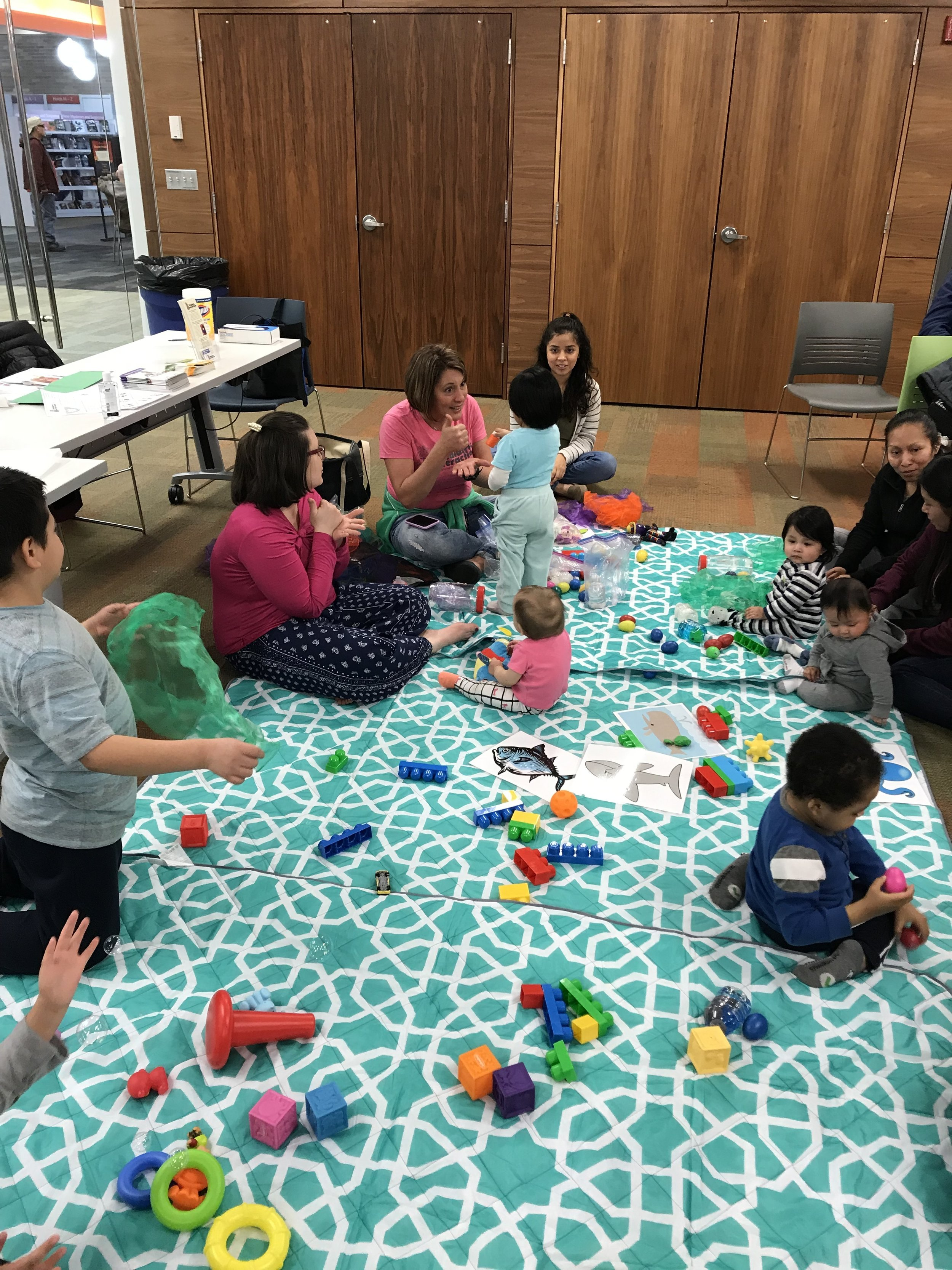 Singing and Signing Parent Workshop with Childserv:  March 2019