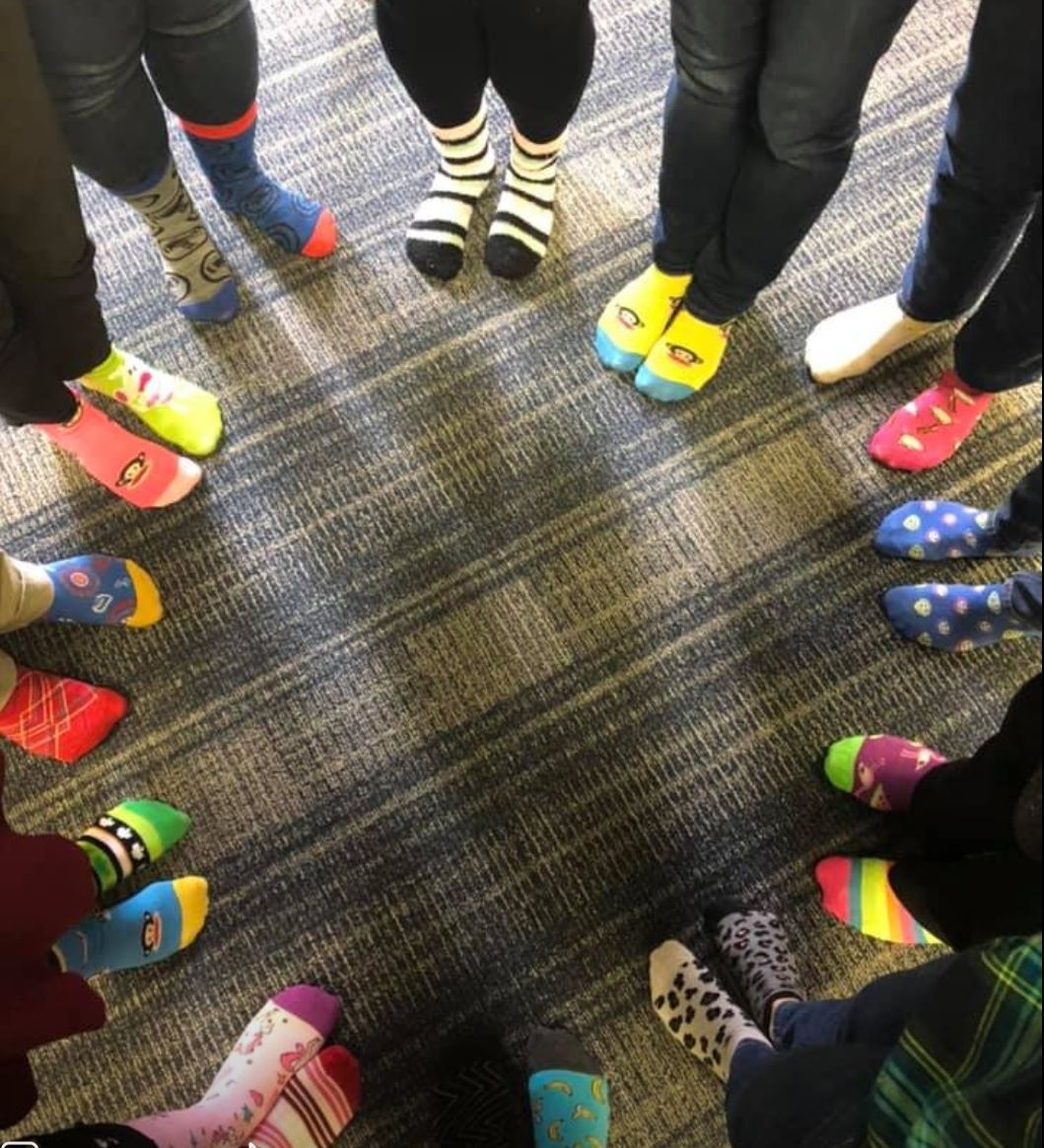 Rock Your Socks for World Down Syndrome Day (March 2019)