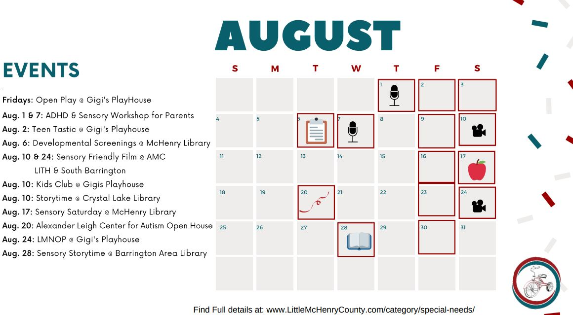 MCHENRY COUNTY CALENDAR
