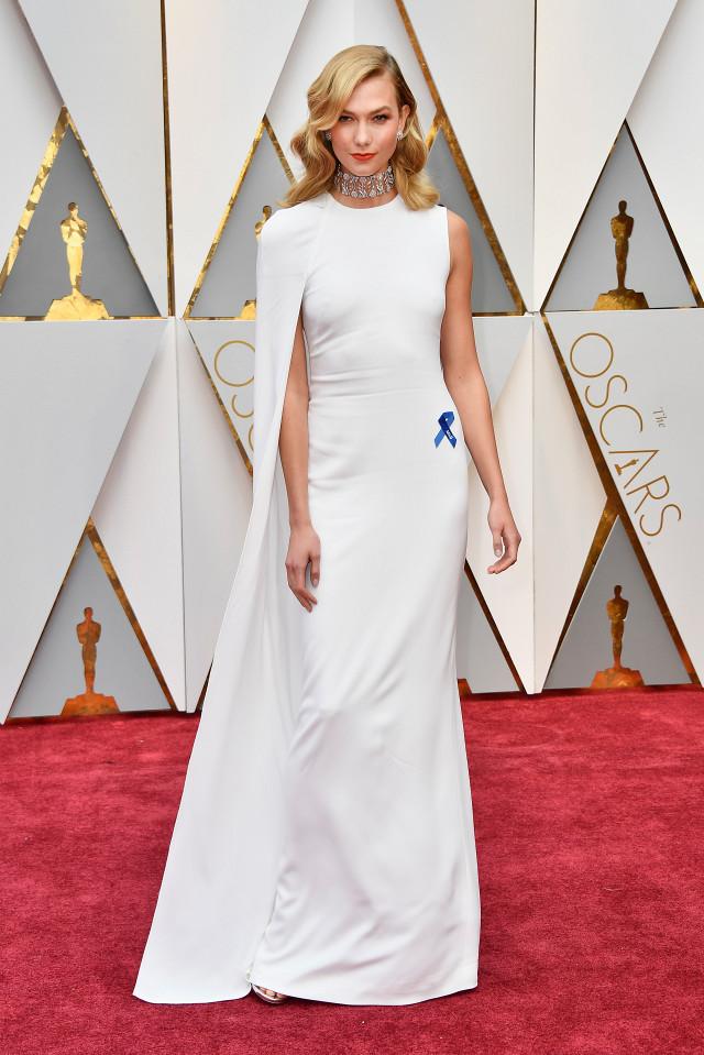 Karlie Kloss Oscars 2017 Red Carpet Jewellery