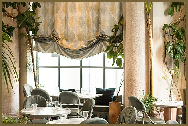 In Milan two weeks ago, the restaurant Lubar and spring in the air at Antonio Marras