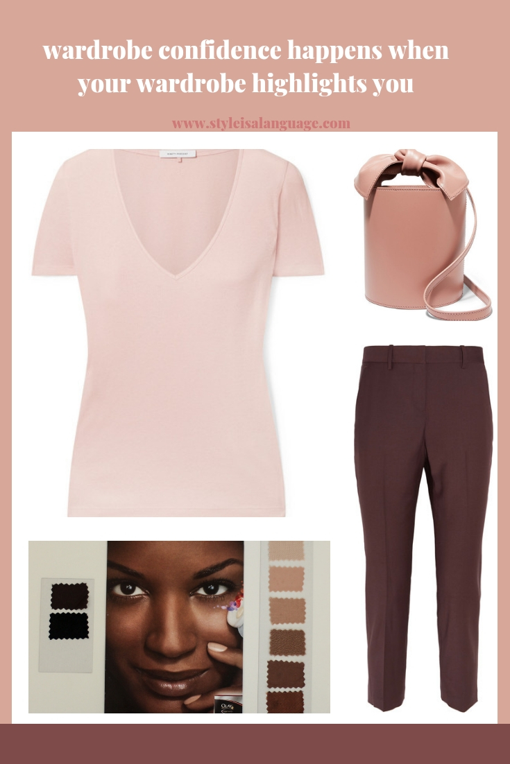 Create a wardrobe capsule that highlights your beauty, personality, expertise and professional goals.