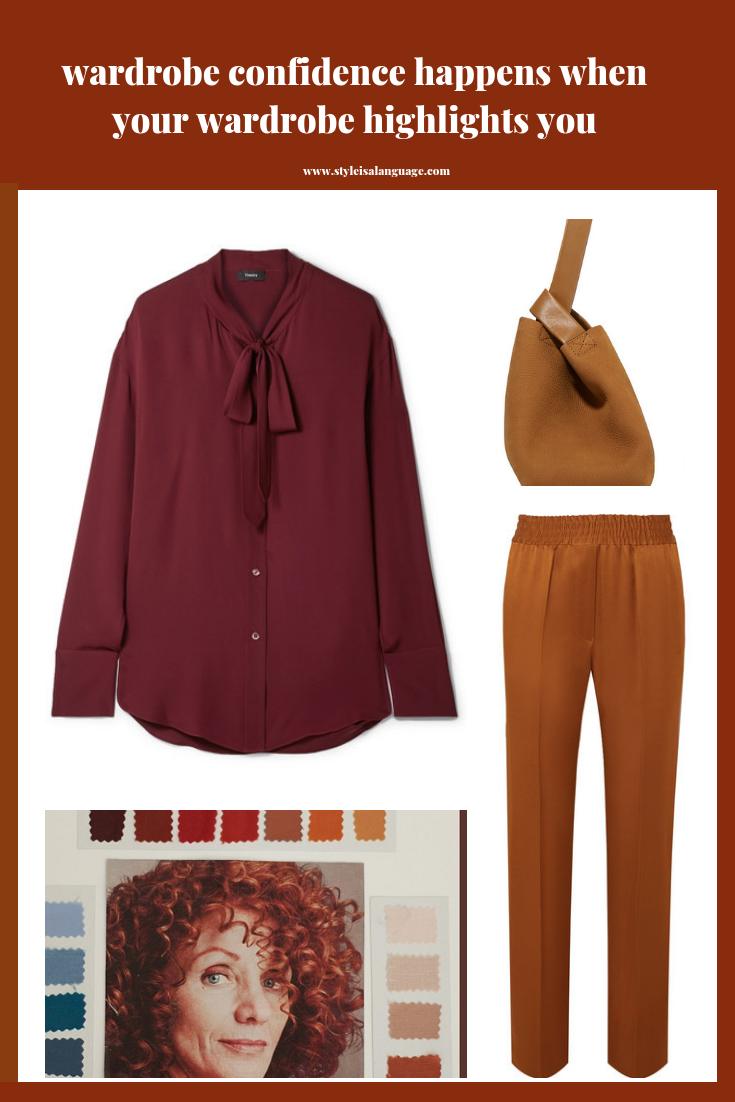 Build a wardrobe capsule that highlights your strengths and beauty so you shine in the workplace