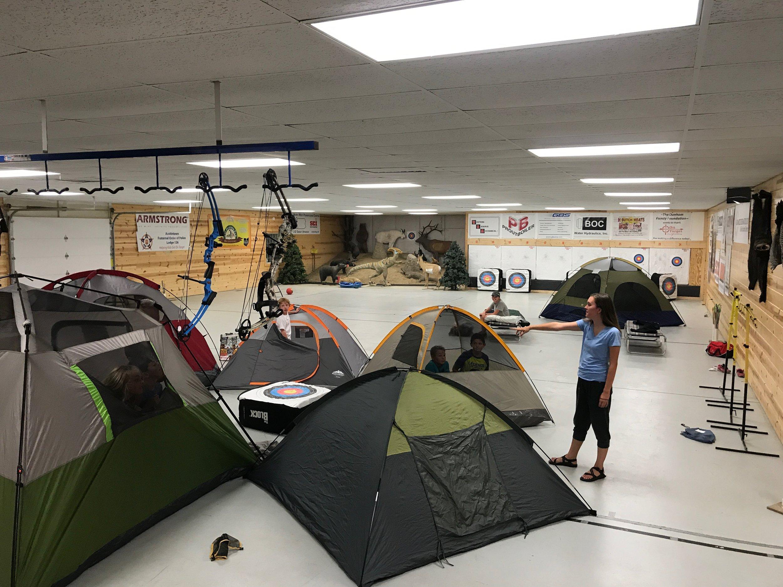 Camp-in!