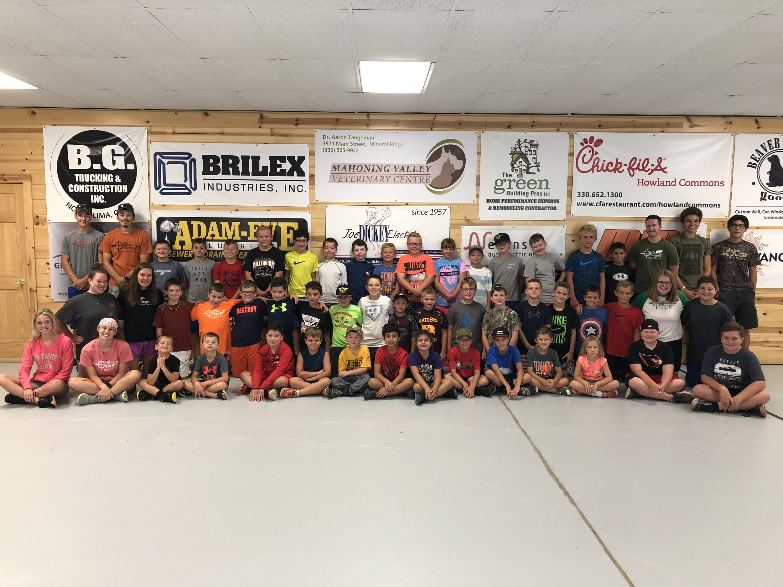 We got to share our last week of camps with just about 50 kids in our two morning camps (plus more in our two afternoon camps)!