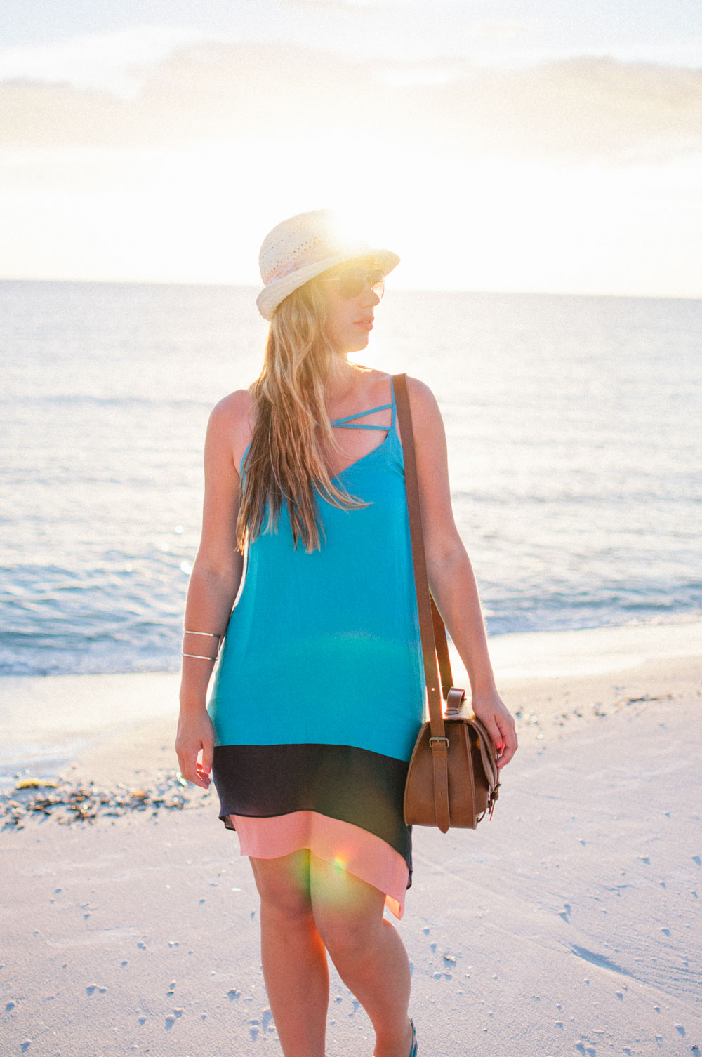 High-Low Dress at the Beach