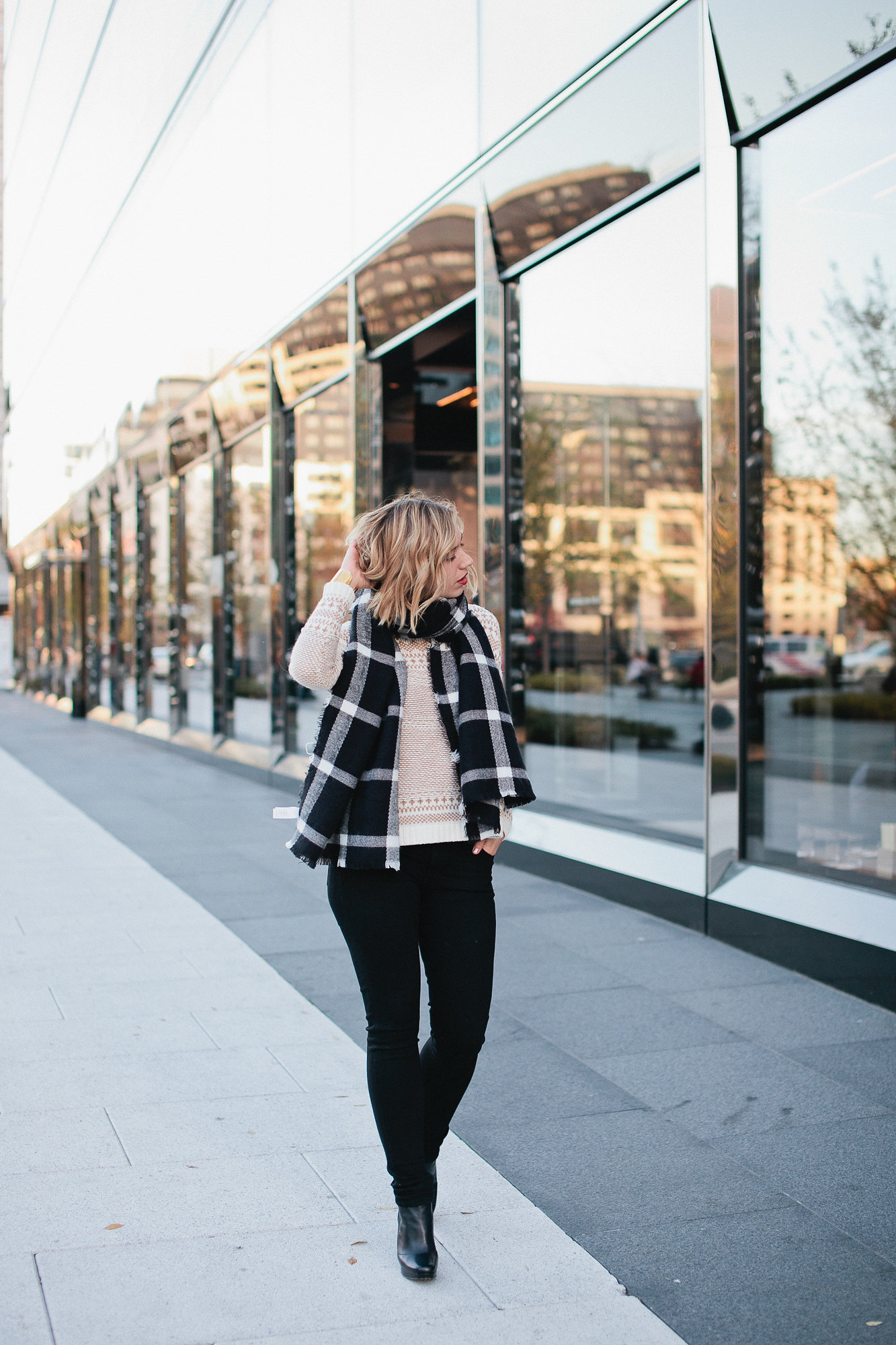 causual winter outfit