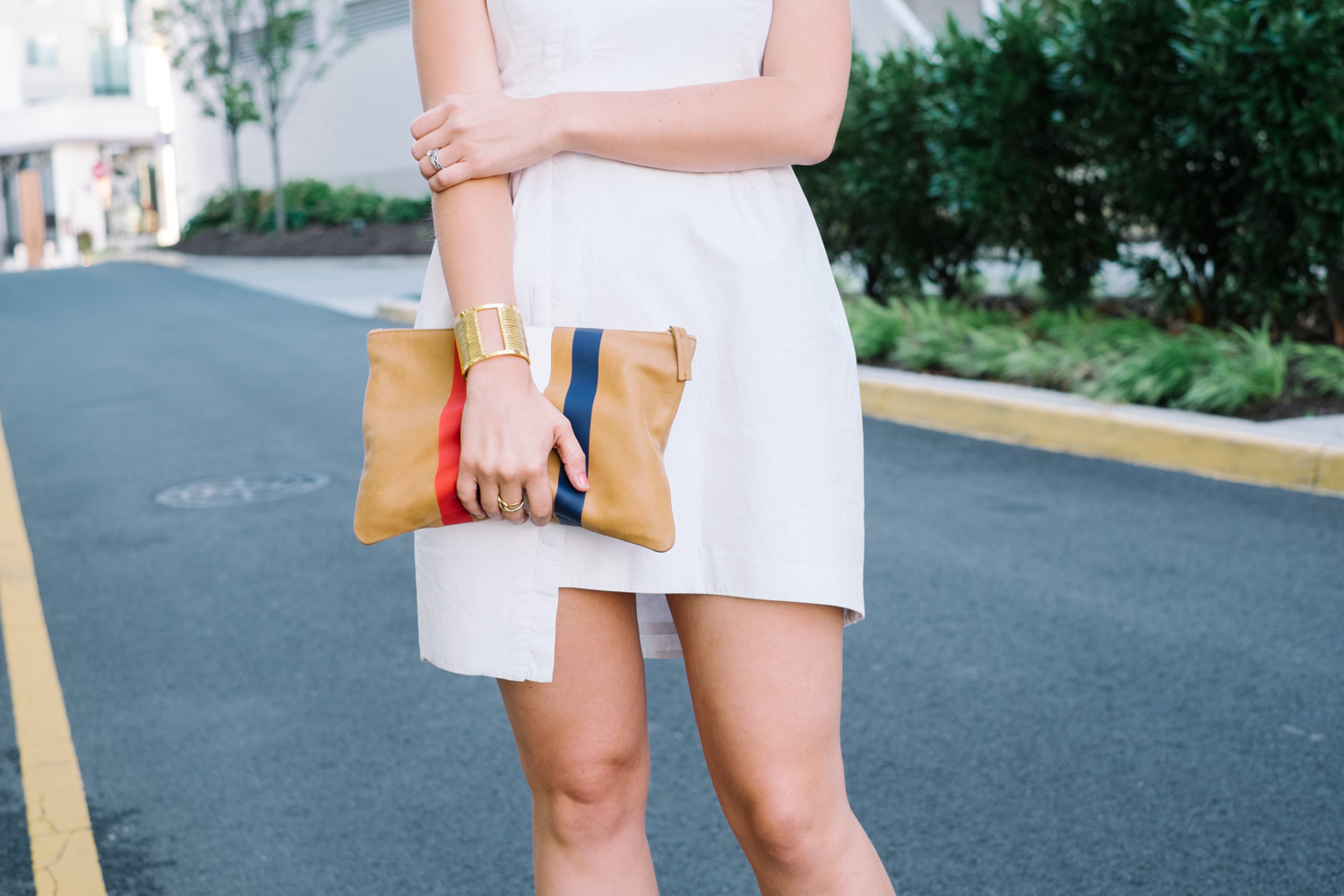 This Clare V. clutch  is 25% off with code: INTHEFAM