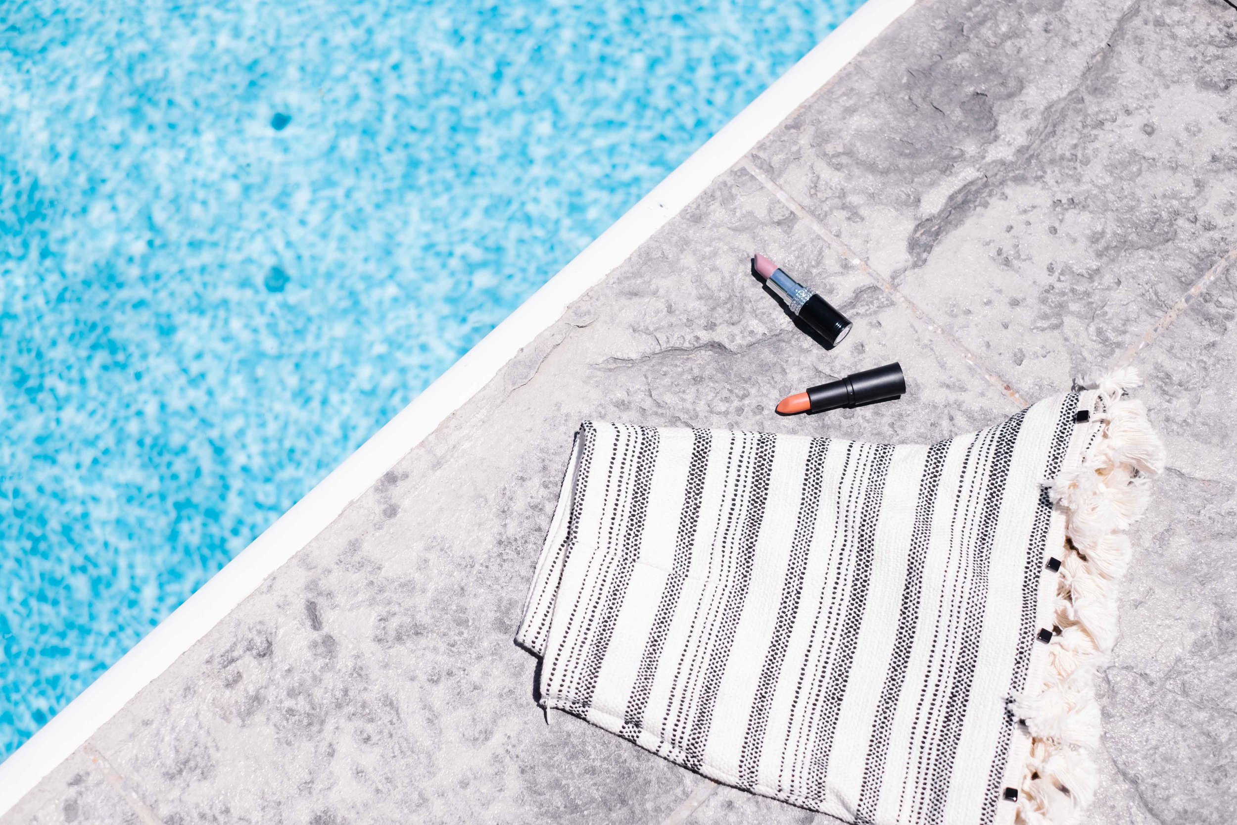 LIPP lipstick shades  and  Take 5 Boutique shorts