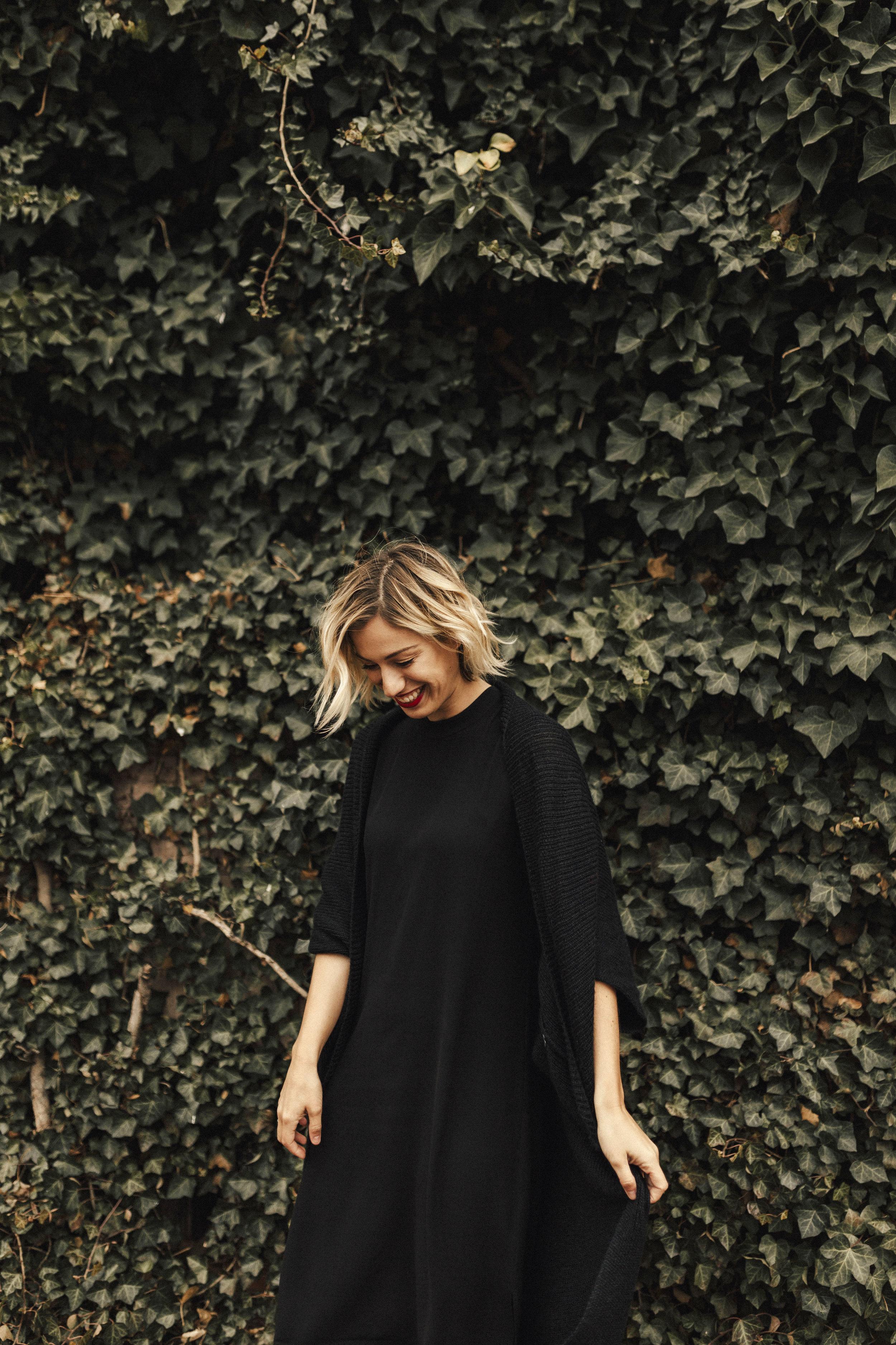 cozy-black-dress