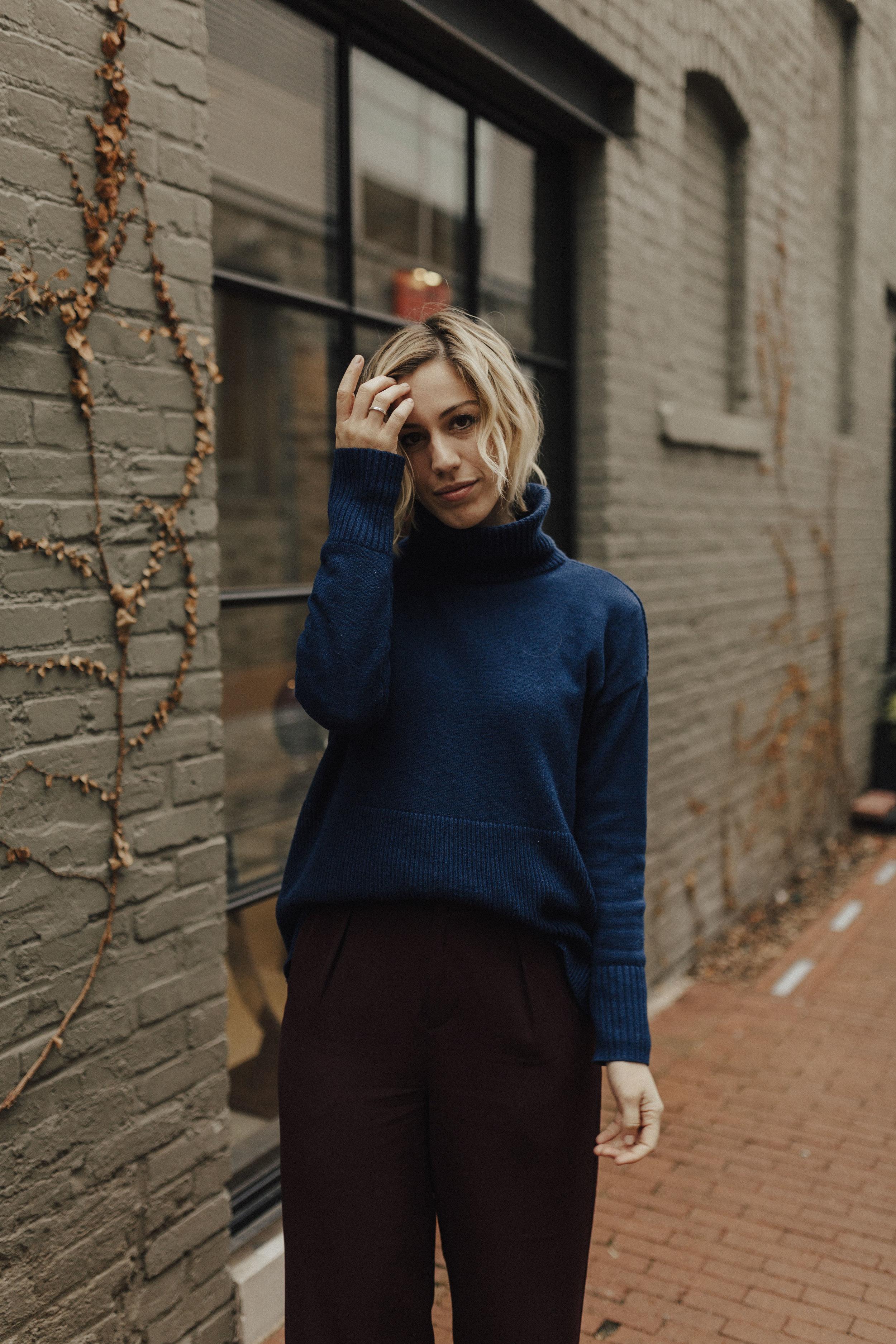 blue-turtleneck-sweater