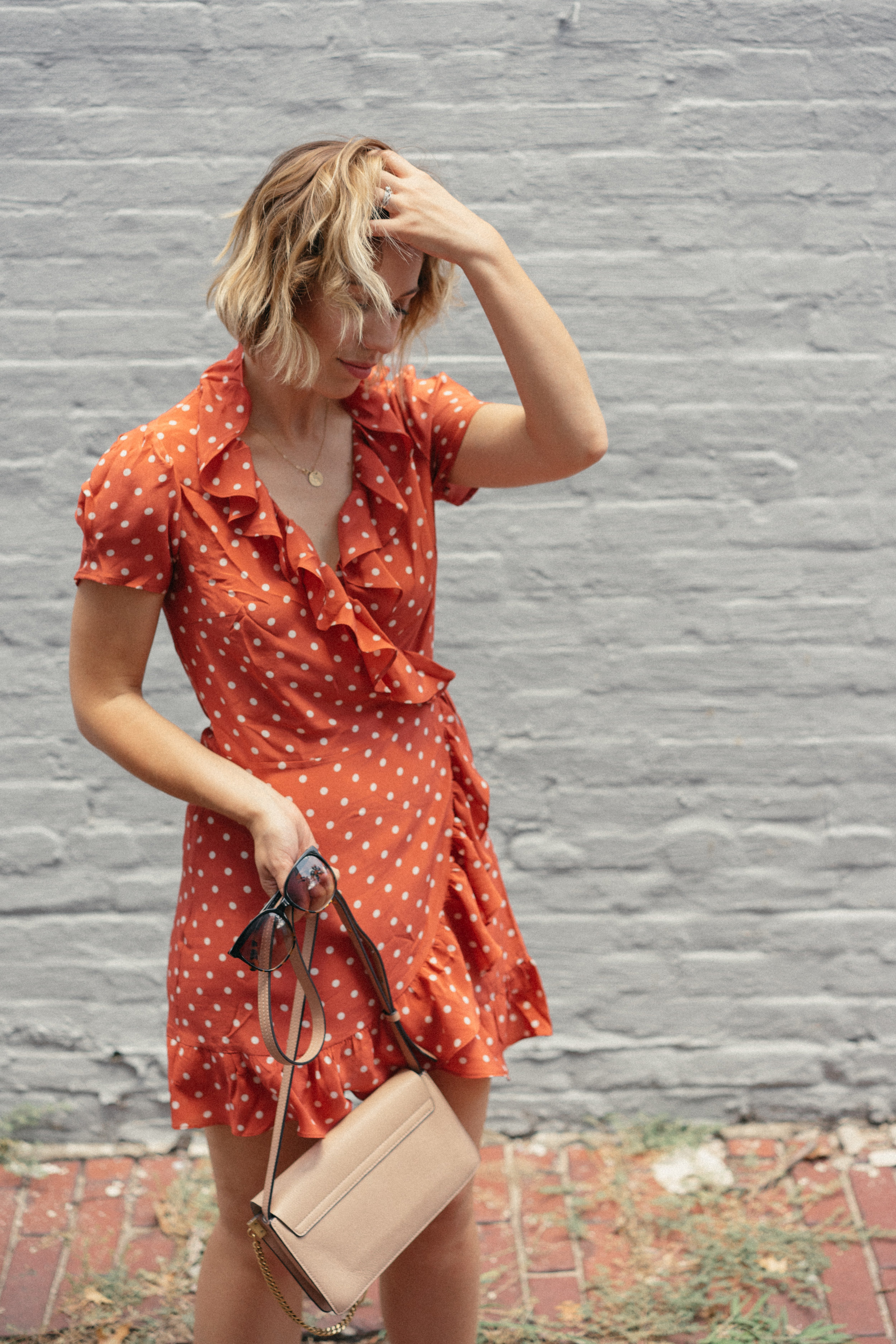 realisation par orange dress