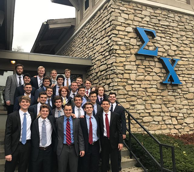 Congratulations to the 11/19/17 pledge class. Welcome to the best brotherhood on campus.
