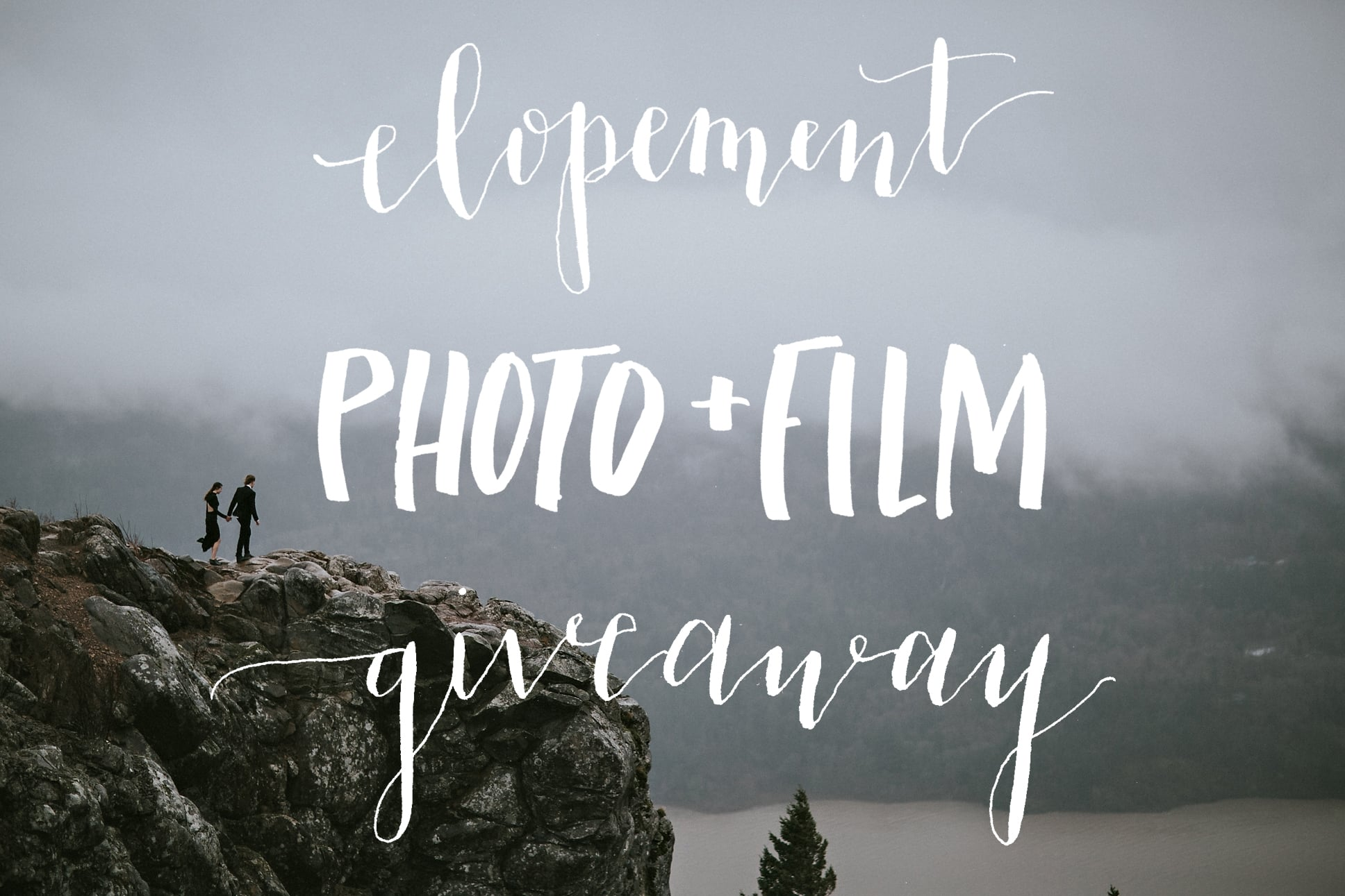 Elopement Photography Videography Giveaway Rache Gulotta Photography Angel's Rest