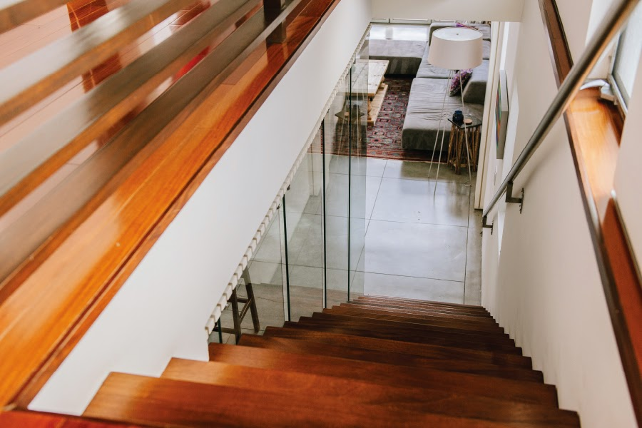 mint and varnish art unified venice beach loft tour johan andersson staircase pdf.jpg