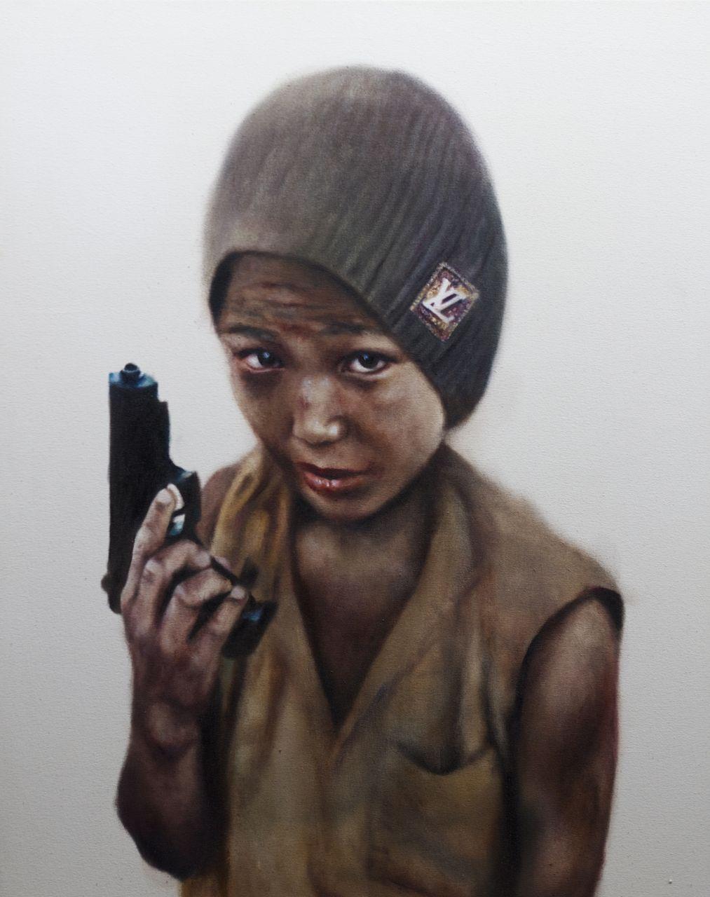 'Soldier'. New York. 2014.
