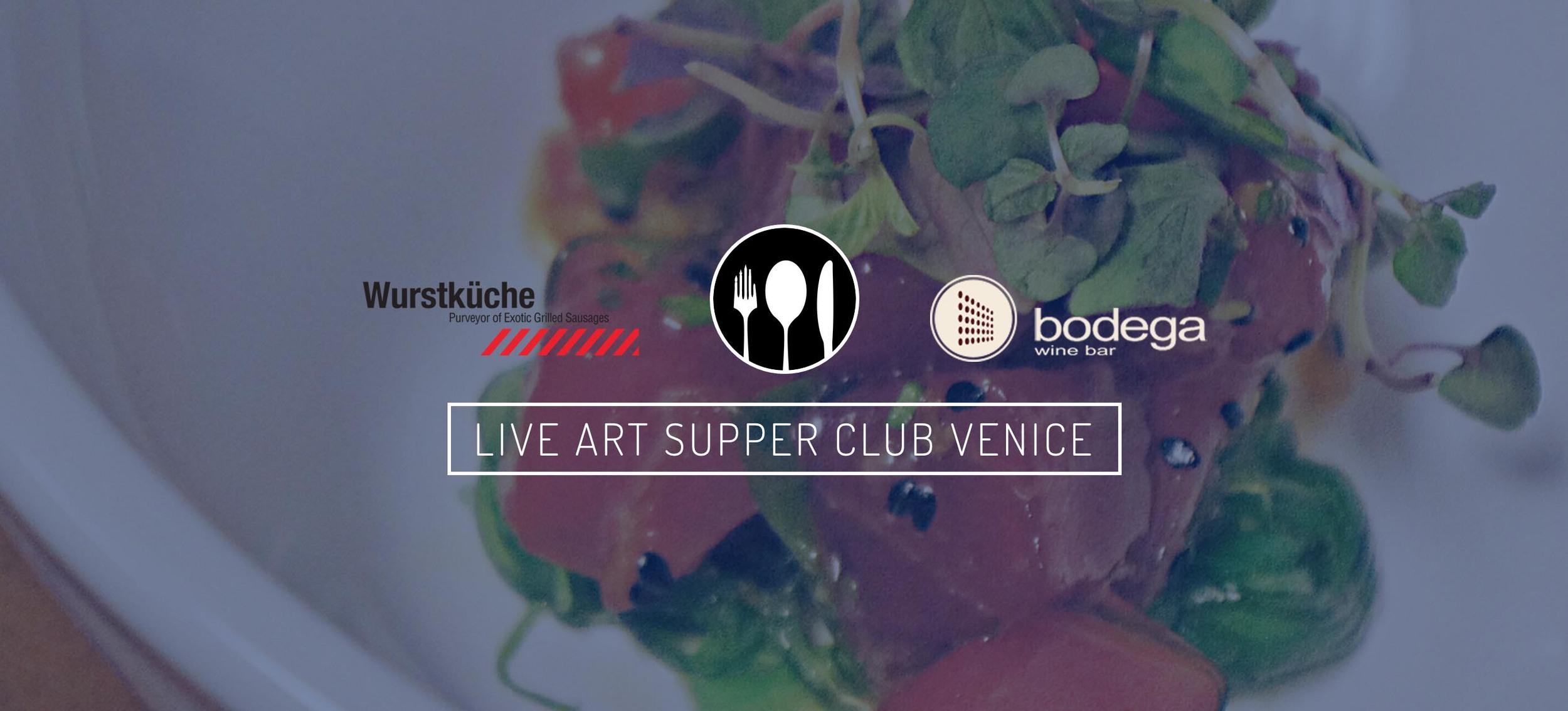 Live Art Supper Club_Art Unified