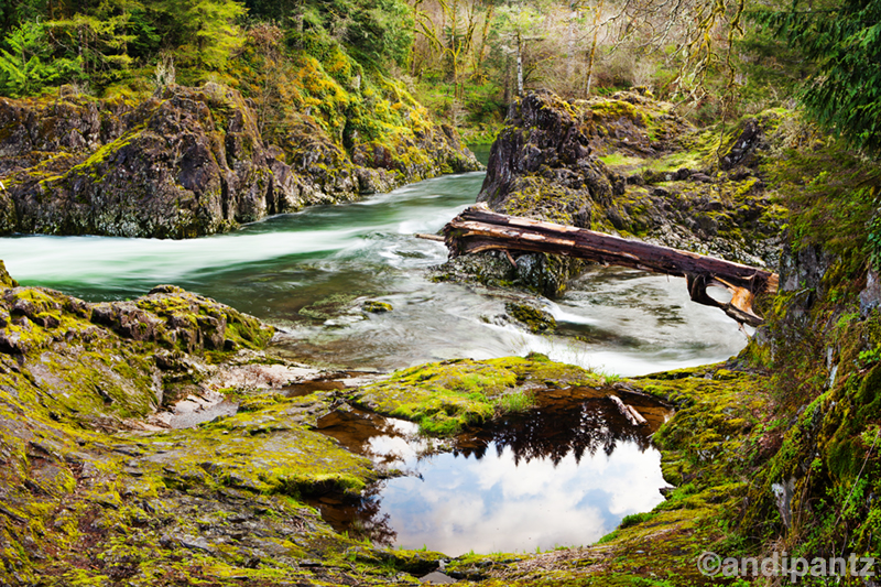 Lewis River, Washington.
