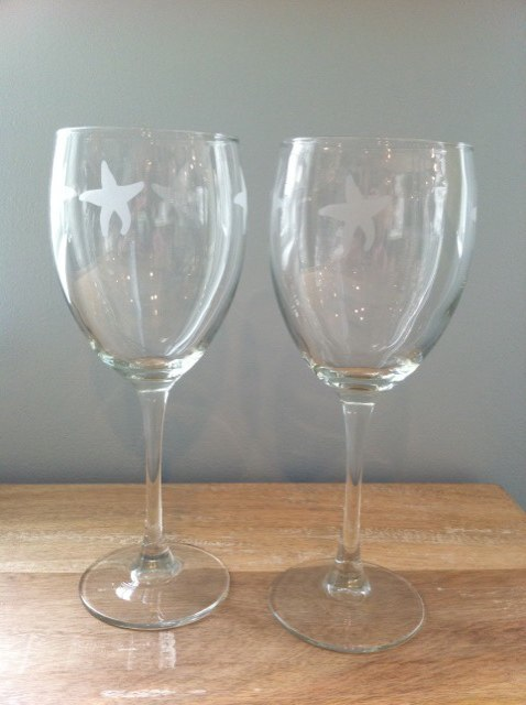 15160 - Starfish Goblets(6) - $14/each - Received 6