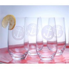 22458 - Anchor Cooler Glasses(4) - $14/each - Received (4)
