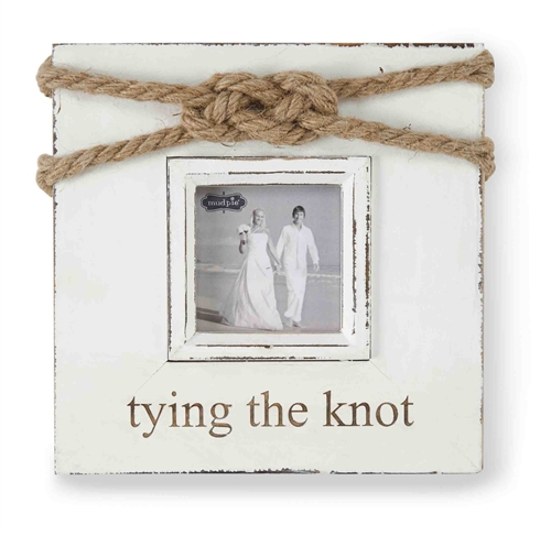"""23620 - """"Tying the Knot"""" Frame - $24"""