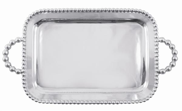 2170 - String of Pearls Serving Tray - $175 - Received