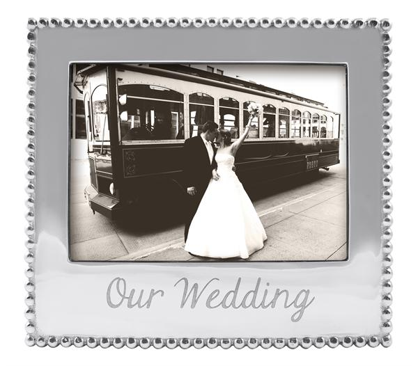 """23542 - """"Our Wedding"""" Frame - $66 - Received"""